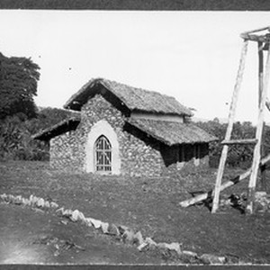 View of the chapel near Mamba, Tanzania, ca.1901-1908