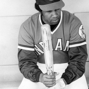Indians player Frank Robinson