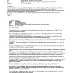 [Email from Peter Redshaw to Alonso Robert, Tom Keevil, Suzanne Wise regarding ...