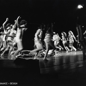"Performers in Anna Halprin's ""Animal Ritual"""