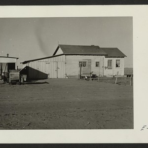 A typical house provided for volunteer beet workers of Japanese ancestry at ...