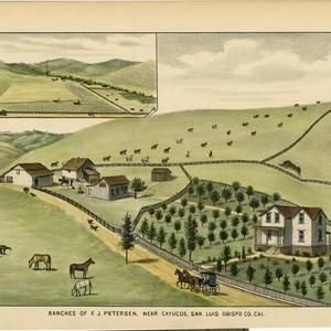 Petersen, F. J., Ranches, near Cayucos, San Luis Obispo County