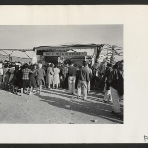 Harvest Festival crowds. Photographer: Stewart, Francis Newell, California