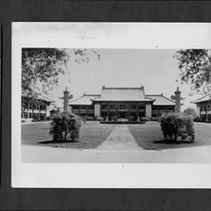 Bashford Hall, Yenching University, Beijing, China, 1937