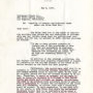 Letter from Earl D. Killion, Attorney, to Dominguez Estate Company, re: legality ...
