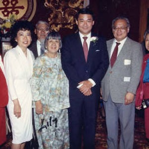At Mirawa Restaurant in Los Angeles, Ronald Lew in the center and ...