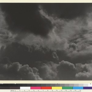 Clouds over San Francisco. [photographic print]