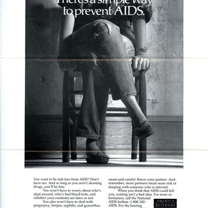 America Responds to AIDS advertisement - There's a simple way to prevent ...