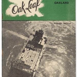 Oak Leaf newsletter 1945-03