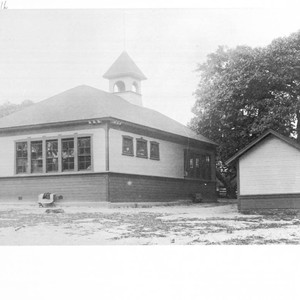 Rear view of Pleasant Hill School