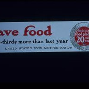 Save food: two-thirds more than last year. America's food pledge - 20 ...