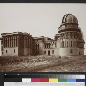 North dome of the Yerkes Observatory, from the east, after the Kenwood ...