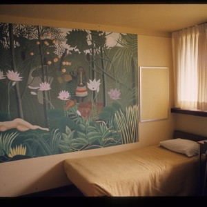 Dormitory bedroom, ca. 1970