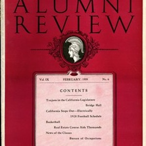 Southern California alumni review, vol. 9, no. 6 (1928 Feb.)