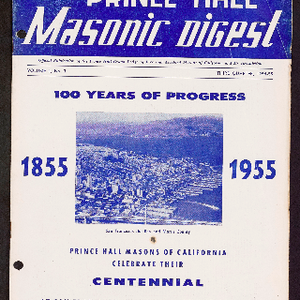 Prince Hall Masonic Digest, Third quarter 1954-1955