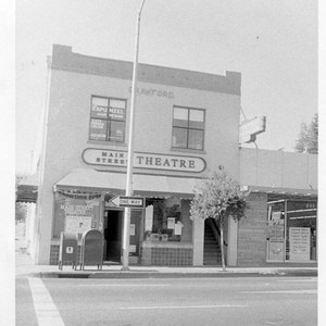 Main Street Theatre in the Crawford building at 104 North Main and ...