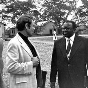 Pastors' meeting at Arusha, Tanzania, September 1978. Left: Mission Secretary of American ...