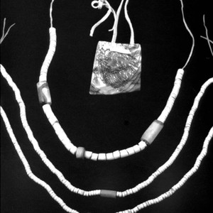 Bead necklaces--belonged to Henry Azbill