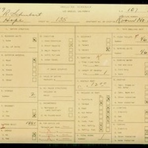 WPA household census for 135 S HOPE, Los Angeles