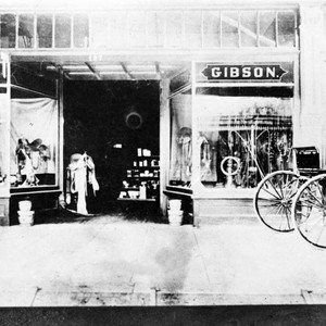 Gibson Harness Store Window View