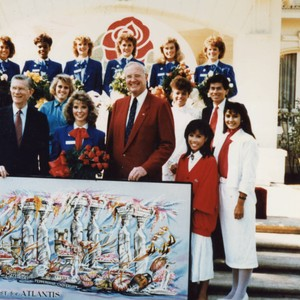 50th Anniversary Rose Bowl Parade Float