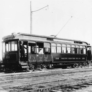Pacific Electric car