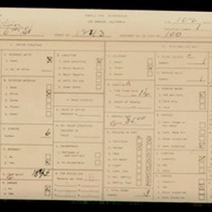 WPA household census for 1243 W 6TH ST, Los Angeles