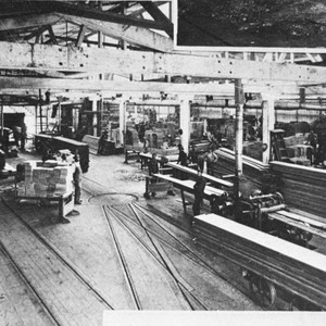 Interior View of the Sierra Lumber Co