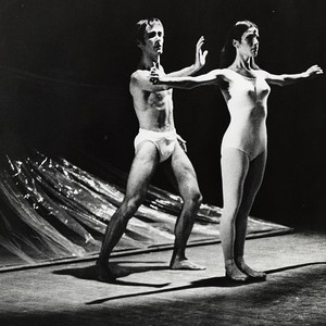 Roderick Drew and a San Francisco Ballet dancer in Carvajal's The Way, ...
