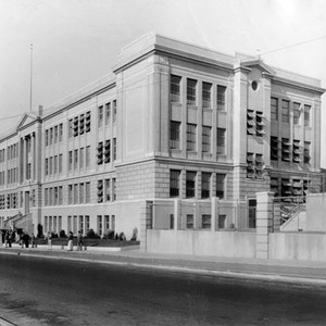 [St. Ignatius High School at Turk and Stanyan Streets]