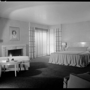 Taurog, Norman, residence. Bedroom