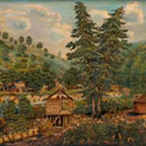 Coloma and Sutter's Mill in 1851