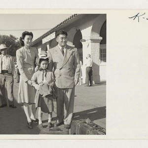 Dr. K. Tsuda and family returns to Sacramento, California, after spending three ...