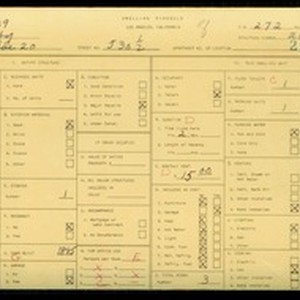 WPA household census for 530 S AVENUE 20, Los Angeles