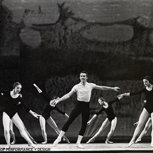 San Francisco Ballet dancers in Balanchine's Symphony in C, circa 1961