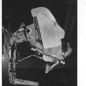 Newtonian spectrograph mounted on the 100-inch telescope, Mount Wilson Observatory