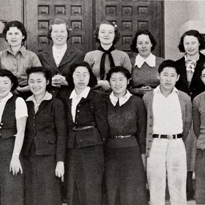 The Scholarship Society, Lompoc High School : 1938 ; the Society was ...