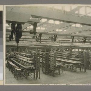 Canning Tables, 1920