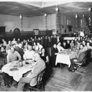 Christmas party at Rio Dance, c. 1950