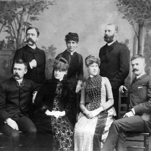 Charles Clarke Chapman and family, 1890