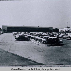 Parking lot of the original Rand Building, 1700 Main Street, across from ...