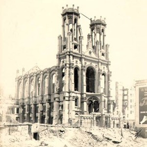 [Temple Emanu-el, damaged in the earthquake and fire of April 18, 1906]