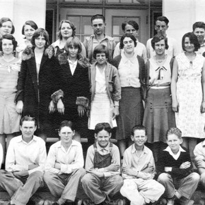 Grand Island School class portrait