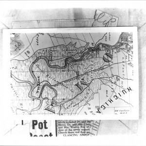 Map showing area along Sonoma Creek south of the city of Sonoma, ...