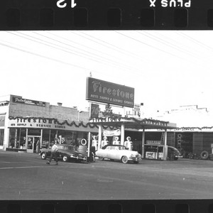 Firestone Auto Supply and Service Stores, Petaluma, California, 1947