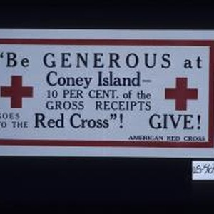 """Be generous at Coney Island - 10 per cent. of the gross ..."