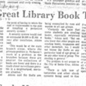 The Great Library Book Theft