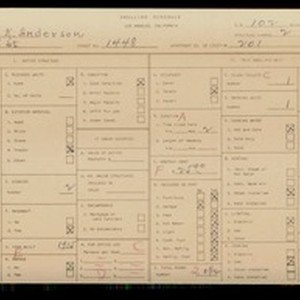 WPA household census for 1448 W 3RD ST, Los Angeles