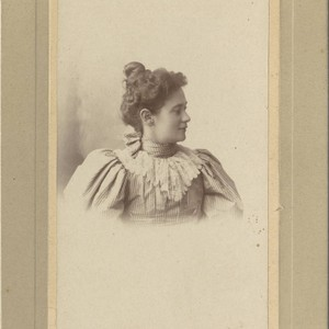 Portrait of Mary Satlerfield Witherbee