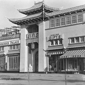 Y. C. Hong Building in New Chinatown